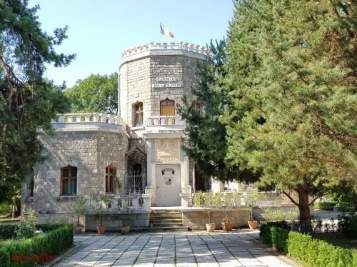Castelul Iulia Hasdeu - vedere frontala ce intriga si incita in acelasi timp.jpg